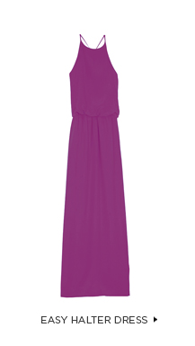 Easy Halter Dress