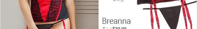 Breanna lingerie set