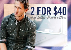 Shop 2 for $40: Best Button-Downs & More