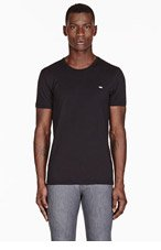 DIESEL Black UMTEE-RANDAL Classic T-Shirt for men