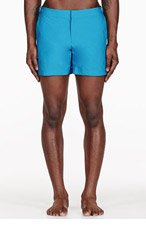 ORLEBAR BROWN Blue SETTER swim shorts for men