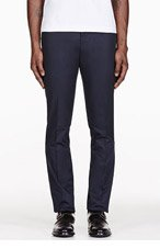 PAUL SMITH LONDON NAVY KENSINGTON TROUSERS for men