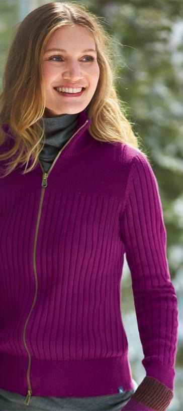 Shop Women's Solid Zip Cardigan