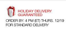 Holiday Delivery Guaranteed