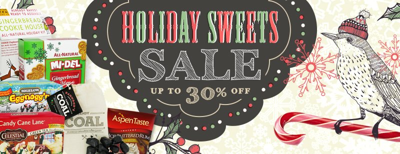 Holiday Sweets Sale