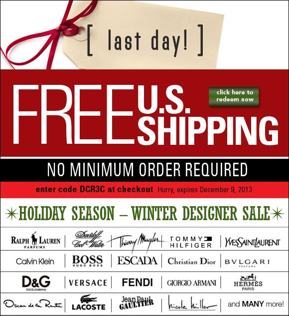 Last Day - Free Shipping*, No Minimum + up to 70% OFF all beauty