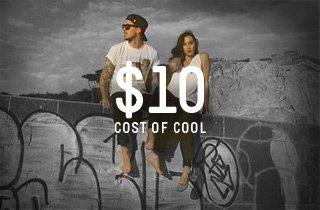 Cost of Cool: $10 and under