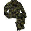 Faded Glory Boys 2 Piece Coat Pajama Set