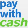Pay with cash online.
