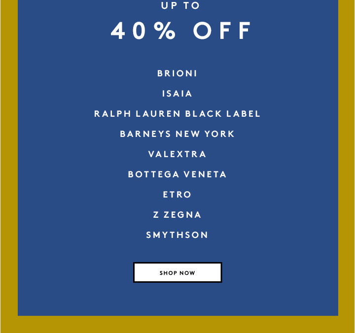Haven't shopped the sale yet? You know what to do...