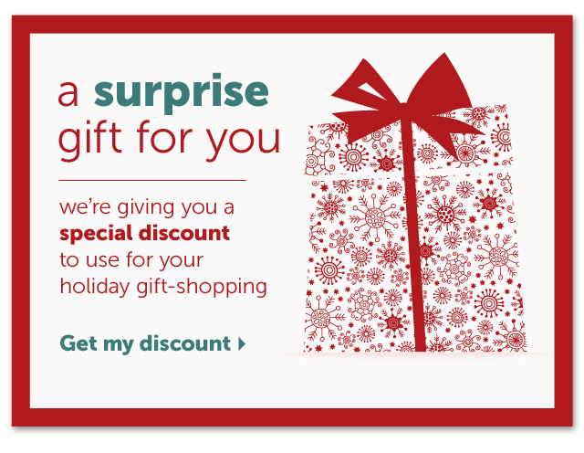 A Surprise gift for you