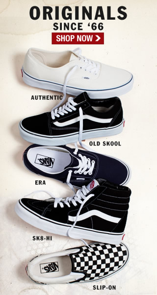 Shop Vans Original Classics!