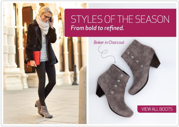Styles of the season from bold to refined. View all Dansko boots.