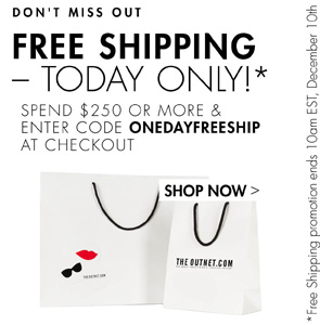 FREE SHIPPING. TODAY ONLY!