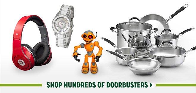 Shop Hundreds of Doorbusters