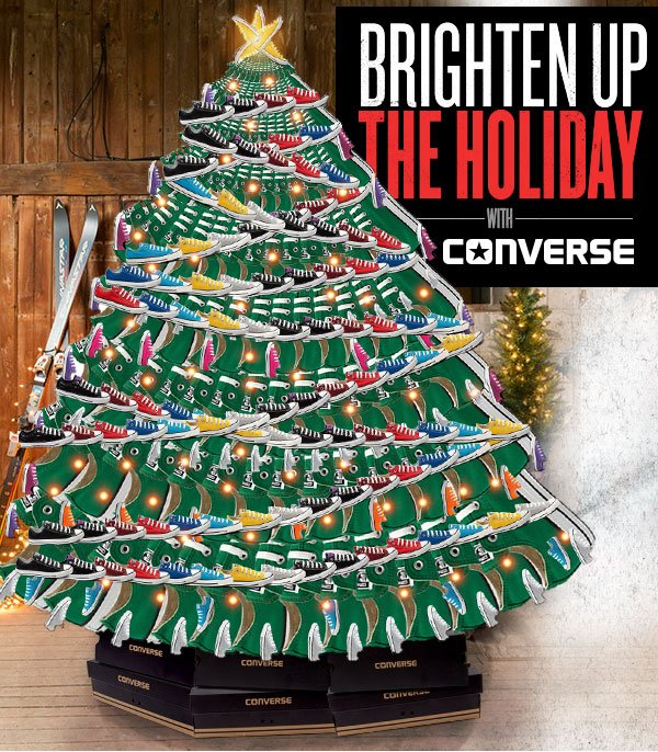 Brighten Up the Holiday with Converse!