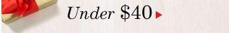 Under $40
