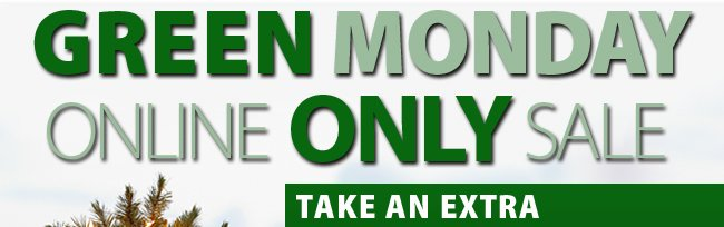 Green Monday Save an extra 20% with promo code PEACE20