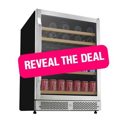 Avanti Energy Star 3.1 Cu. Ft. Two Door Compact Refrigerator/Freezer