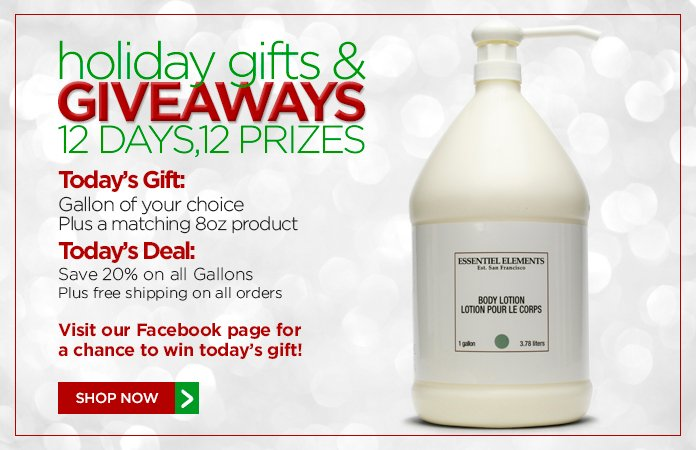 12 Days of Gifts & Giveaways: 25% off our Verde Collection + free shipping on all orders.