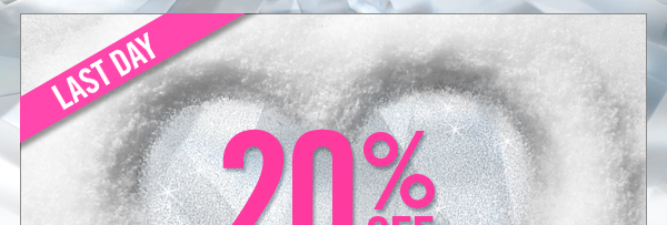 20% off in boutiques and online