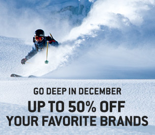 The December Sale—Up to 50% Off
