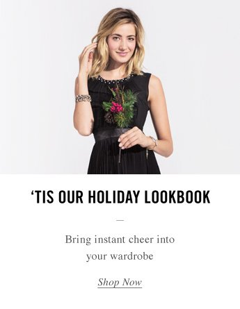 'Tis Our Holiday Lookbook