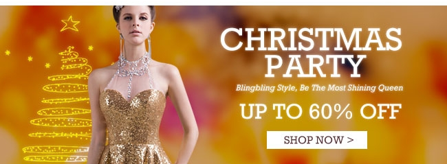 Christmas Party Up To 60% OFF
