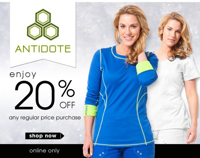 Save 20% on Antidote