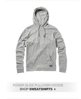 Power Slide Pullover Hoodie - Shop Sweatshirts