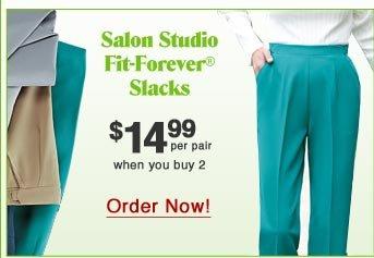 Fit-Forever Slacks