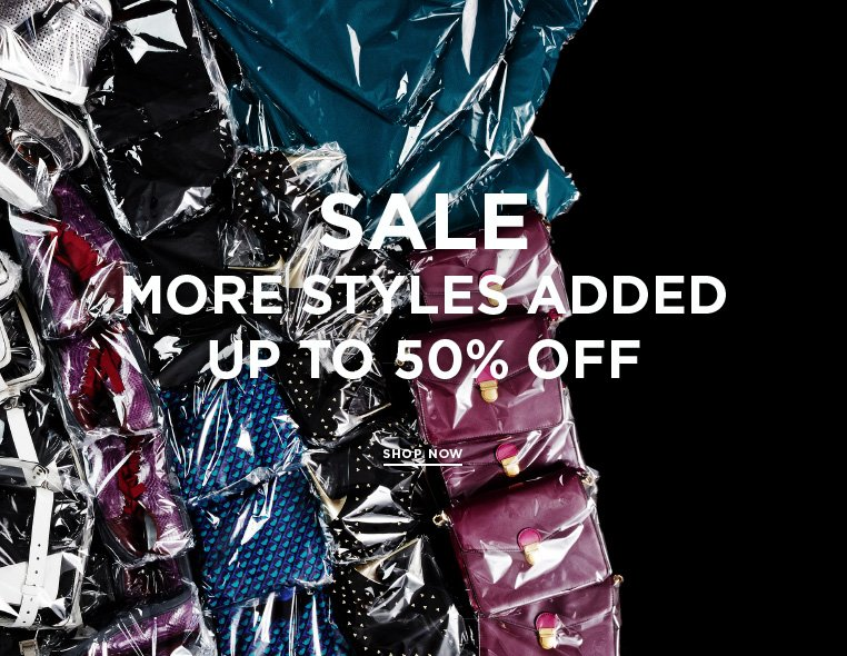 Everyday value at up to 50% off Thousands of styles added to the sale at up to 50% off