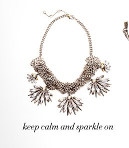 THE WALDORF CRYSTAL STATEMENT NECKLACE