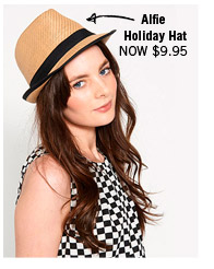 Alfie Holiday Hat NOW $9.95