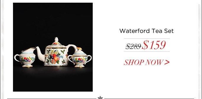 Waterford Tea Set