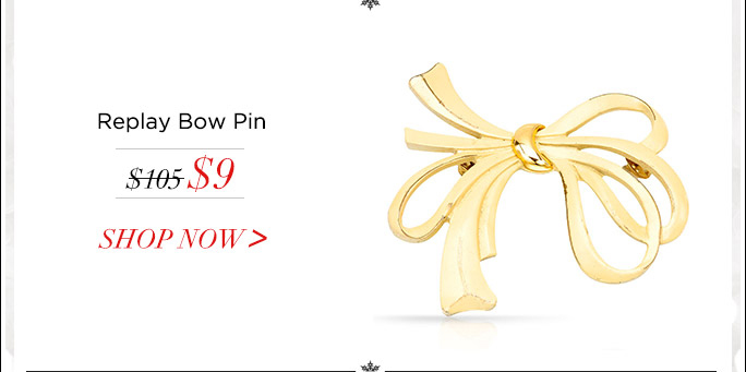 Replay Bow Pin