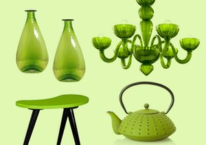 Go Green: Furniture & Décor