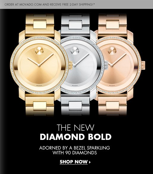 THE NEW DIAMOND BOLD - SHOP NOW