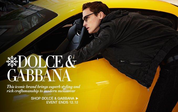 Shop Dolce & Gabbana For Men