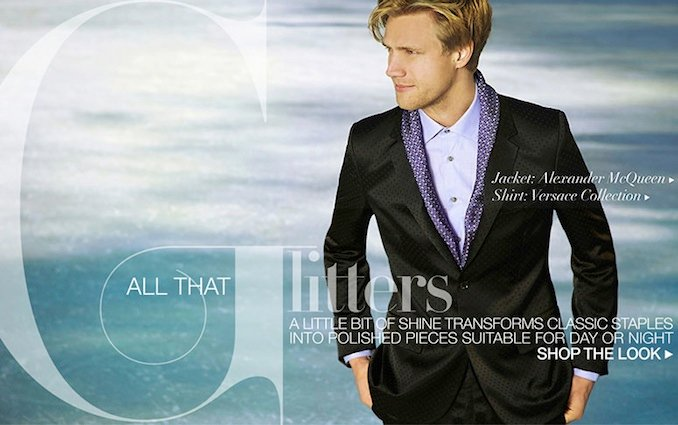 Shop The Look: All That Glitters - For Men