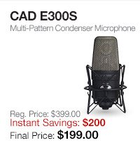 CAD E300S Microphone