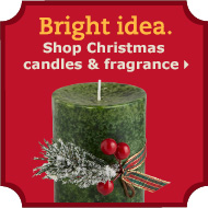 Shop Christmas candles & fragrance