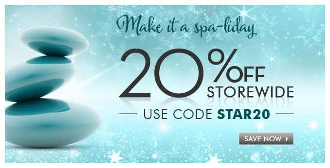 20% off Storewide use code STAR20 — Save Now »