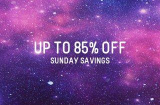 Sunday Savings