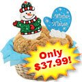 Winter Wishes Cookies Basket