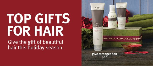 top gifts for hair. give the gift of beautiful this holiday season.