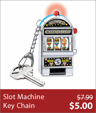 Slot Machine Key Chain