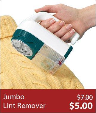 Jumbo Lint Remover