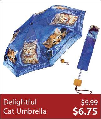 Delightful Cat Umbrella