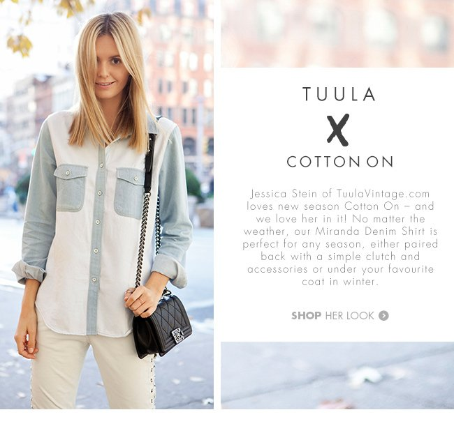 Tuula X Cotton On